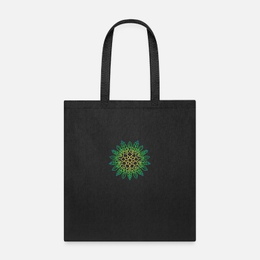 Graffiti Mandala art drawing for gift - Tote Bag