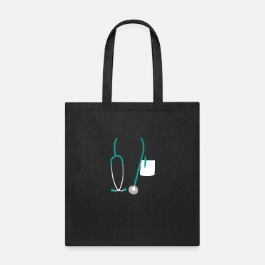 Medical Student Stethoscope doctor medical student - Tote Bag