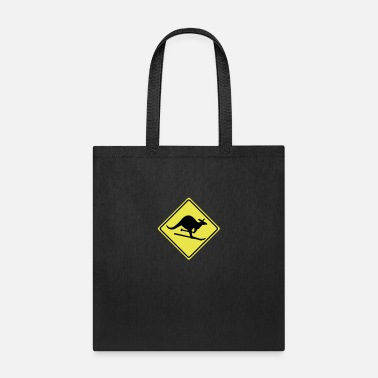 Laugh roadsign kangaroo - Tote Bag