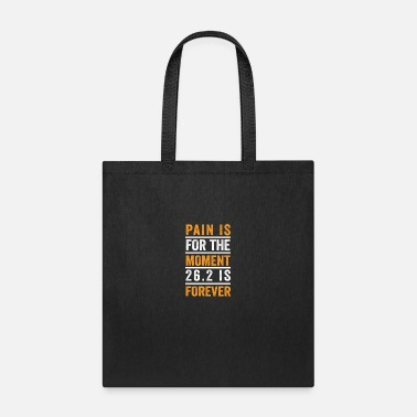Marathon Marathon Motivational Quotes for 26.2 Runner - Tote Bag