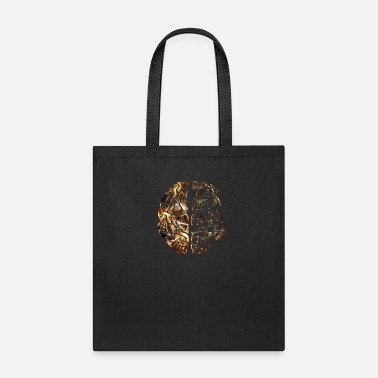 Think Different The two halves of the brain - Premium Design - Tote Bag