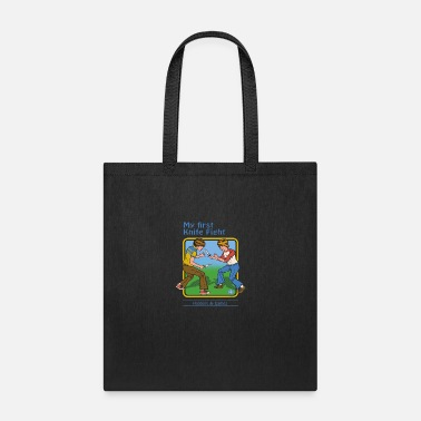 Smiffys my first knife fight - Tote Bag