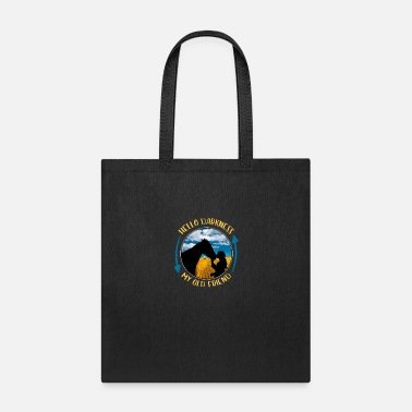 Hello Hello Darkness My Old Friend - Tote Bag