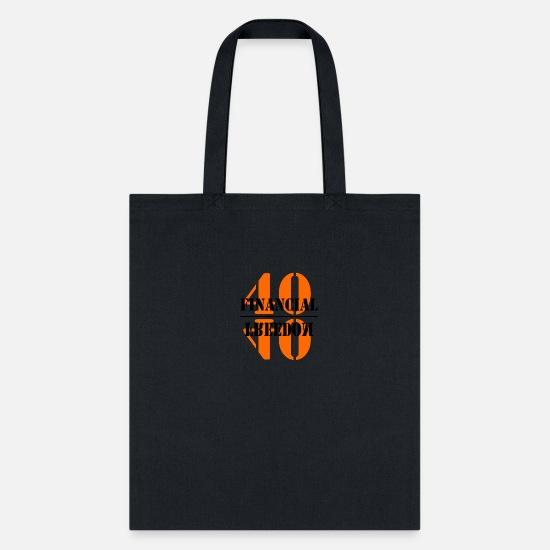 11dfb06f311 Love Bags & backpacks - Financial Freedom - Tote Bag black
