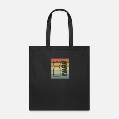 Skill Game Kubb king beach game gift skill game viking retro - Tote Bag