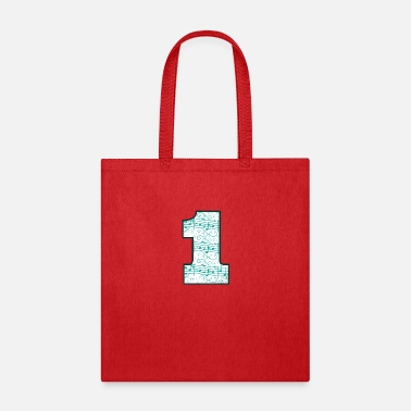 Surprise 1st Birthday Design-One Year Old-Music Lover - Tote Bag