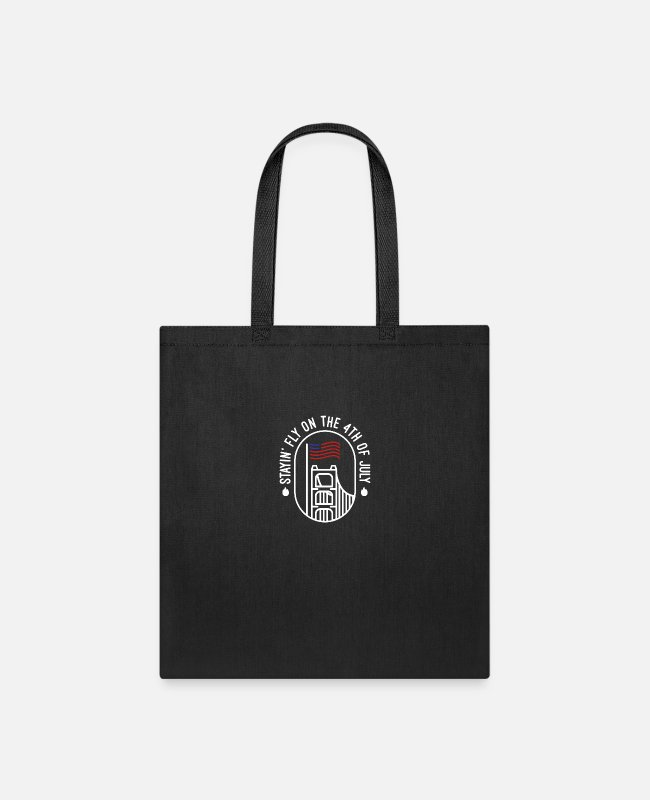 1776 Bags & Backpacks - American Independence Day - Tote Bag black
