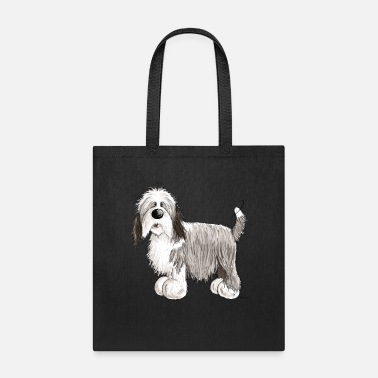 Bearded Fluffy Bearded Collie - Beardie - Dog - Gift - Tote Bag