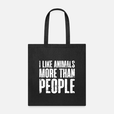 Animal Animal lover vegan meatless quote gift - Tote Bag