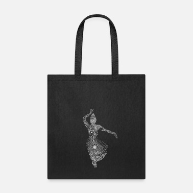 Belly Hand drawn vintage belly dance poses - Tote Bag