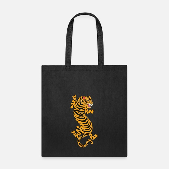 Tiger Bags & Backpacks - Tiger - Tote Bag black