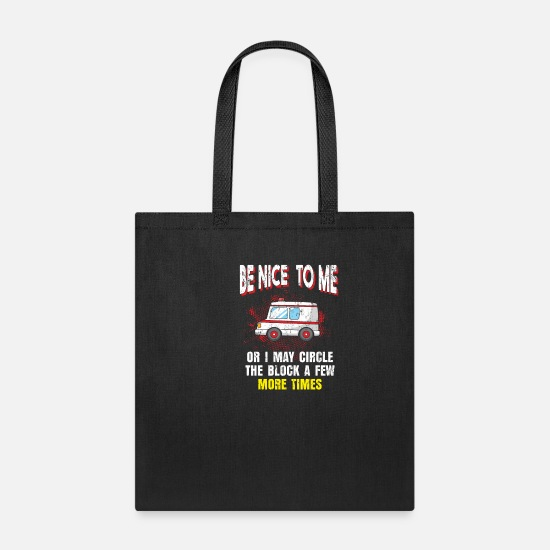 Professor Bags & Backpacks - Paramedic ambulance - Tote Bag black