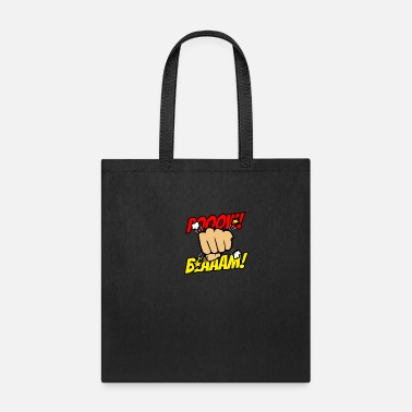 Speech Balloon comic, hero, balloon, superhero, cartoon, fun - Tote Bag