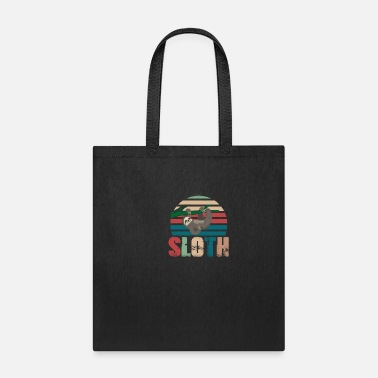 Slow sloth retro - Tote Bag