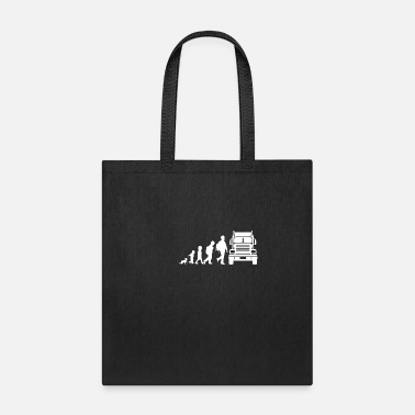 Truck Truck Gift Idea evolution - Tote Bag