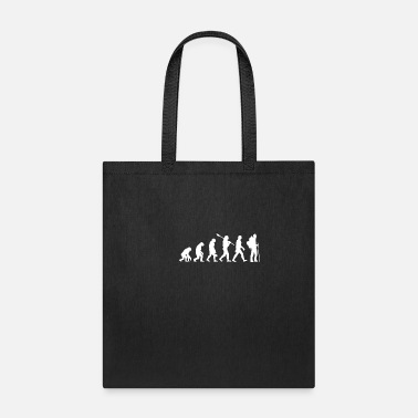 Birthday evolution Hiking mountains summit gift - Tote Bag