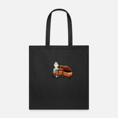 Chamber Music Piano Player Keyboard Organ Chamber Music Symphony - Tote Bag