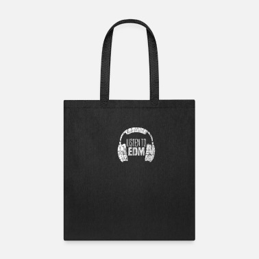 Raver Heart Beats For EDM | Rave Party Music DJ Gift - Tote Bag