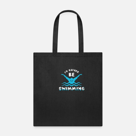 Pool Bags & Backpacks - Swimming Sports Club Gift - Tote Bag black