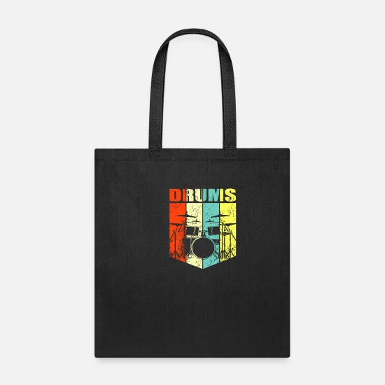 Drummer Bags & Backpacks - drums - Tote Bag black