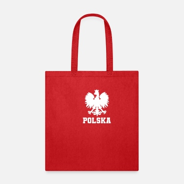 Polish Words Polska Eagle | Poland, Polish Pride, Patriotism - Tote Bag