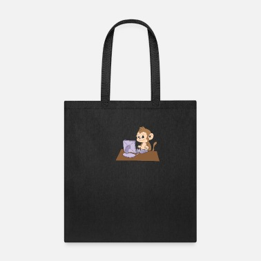 Father Computer Programming Monkey Coder Hacker Gift - Tote Bag