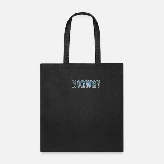 German Bags & Backpacks - norway - Tote Bag black