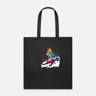 Ski Holidays SKIING UNICORN Ski Holidays - Tote Bag