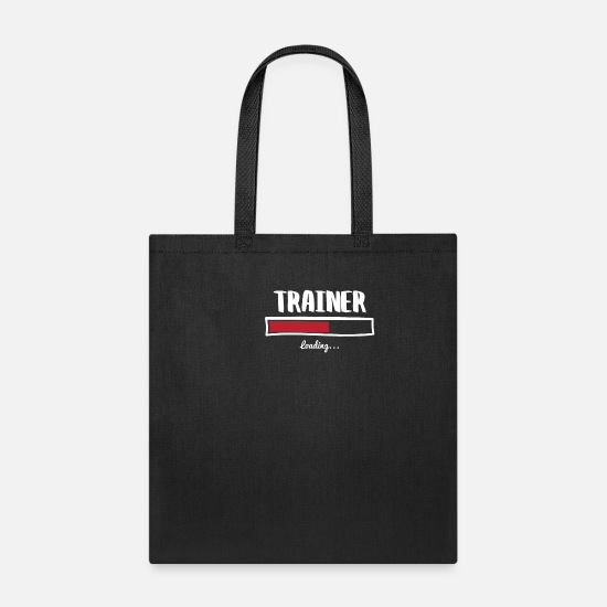 Exercise Bags & Backpacks - Funny Trainer Design - Tote Bag black