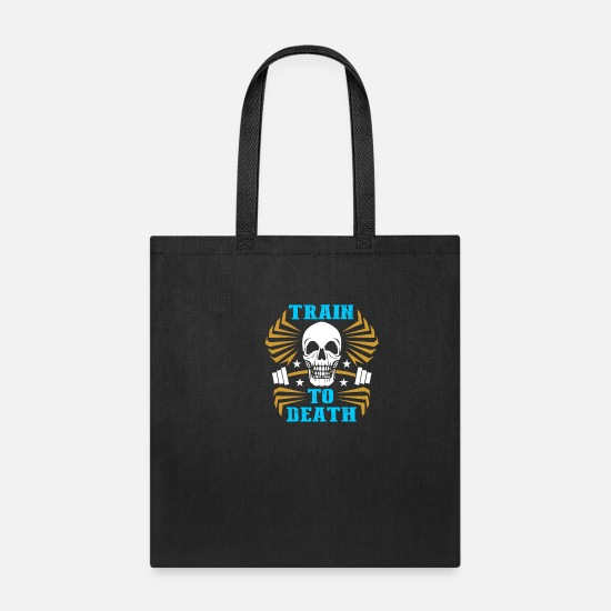 Death Bags & Backpacks - skull death gift - Tote Bag black
