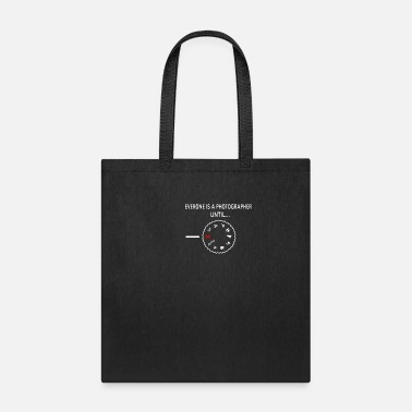 Zoom Photographer film camera lens zoom shower gifts - Tote Bag