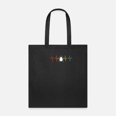Cow Heartbeat Distressed Aphid Heartbeat - Tote Bag