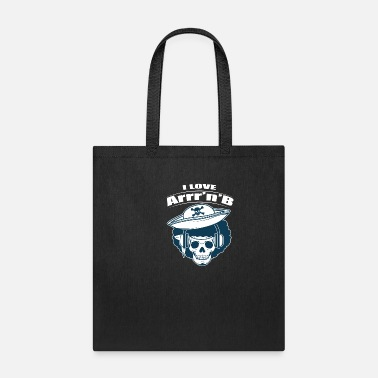 Pirate RnB Music Funny Pirate Afro Blues Rythm Gift - Tote Bag