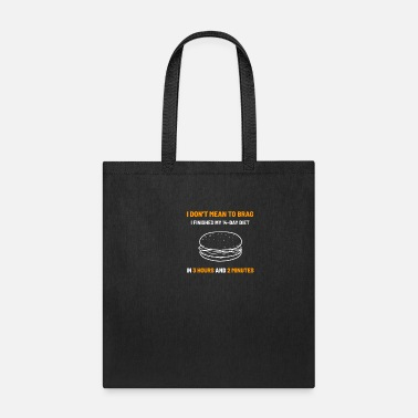 Sarcastic Diet Sarcasm Sarcastic Hungry Person Gift - Tote Bag