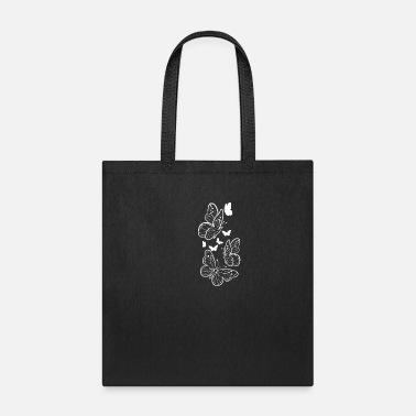 Bed Butterfly Nature Nature Lover Or Cat Owner Gift - Tote Bag