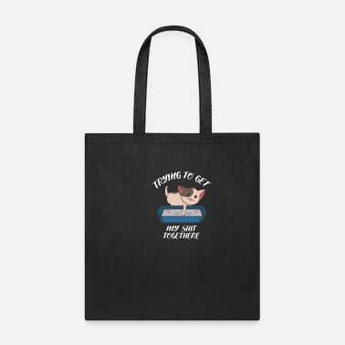 Cat Get My Shit Together Motivated Person Gift - Tote Bag