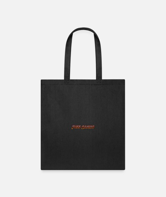 Programmemer Bags & Backpacks - Fuze Gaming Only letters - Tote Bag black