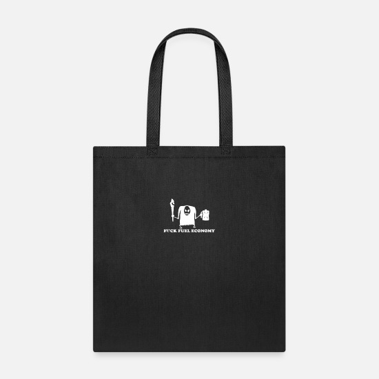 Movie Bags & Backpacks - Fuck Fuel Economy Monster - Tote Bag black
