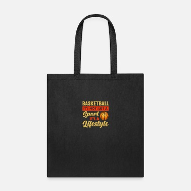 Christian Basketball It's Not Just A Sport, It's A Lifestyle - Tote Bag