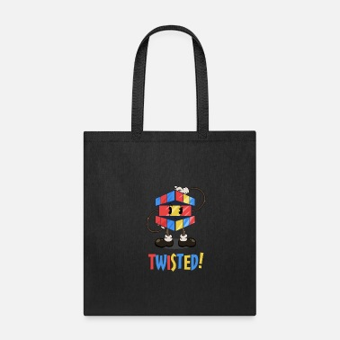 Cube Twisted Rubik's Cube - Tote Bag