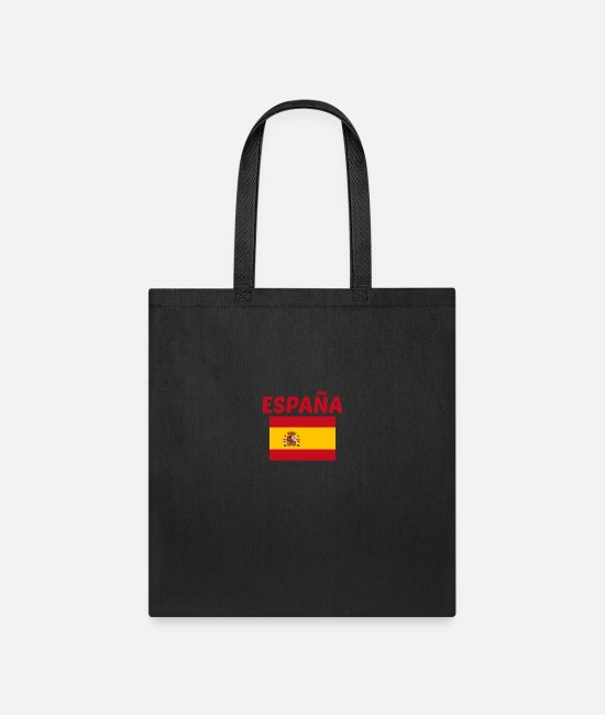 Bandera Bags & Backpacks - Bandera española - Tote Bag black