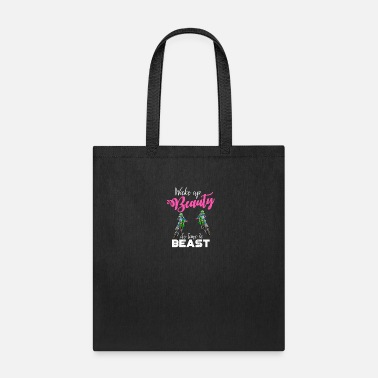 Stuntman Wake up beauty - Motocross, Enduro, Beast motorcyc - Tote Bag