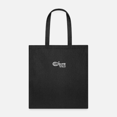 Badminton Balls to the walls - squash, tennis - Tote Bag
