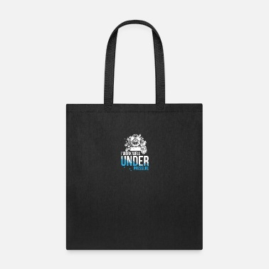 Suit Work well under pressure - diving - Tote Bag