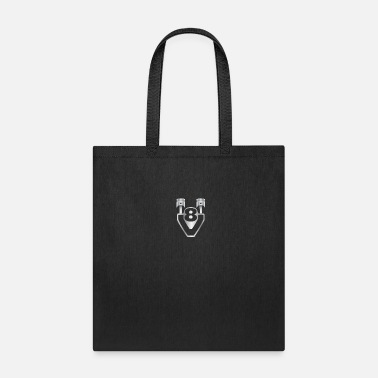 Mechanic V8 - engine, displacement, tuning - Tote Bag