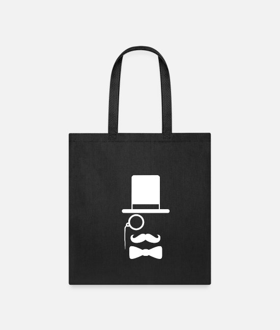 Rocker Bags & Backpacks - dr beard1 - Tote Bag black