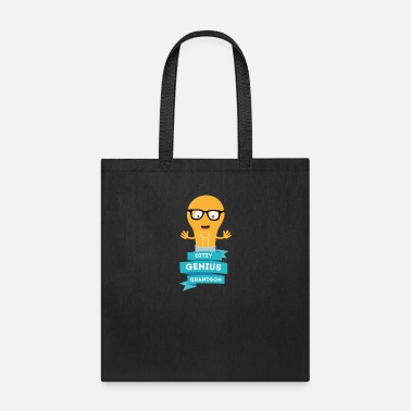 Young Persons ditzy Genius grandson - Tote Bag