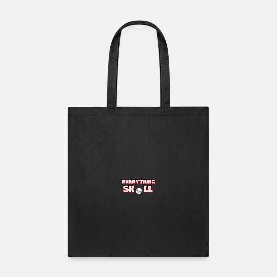 Exclusive Bags & Backpacks - everything skull exclusive products - Tote Bag black