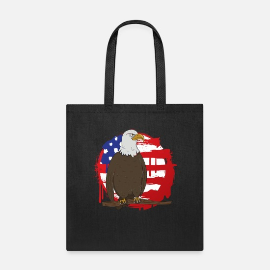 Usa Bags & Backpacks - United States of America - Tote Bag black
