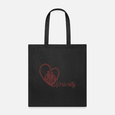 Priorities family priority - Tote Bag